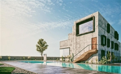 This Maadi Villa by Badie Architects Exudes Raw Brutalist Energy